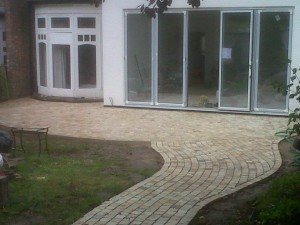sandstone cobble sets